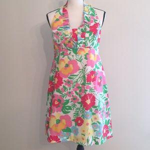 Lily Pulitzer Garden by the Sea Halter Tie Dress